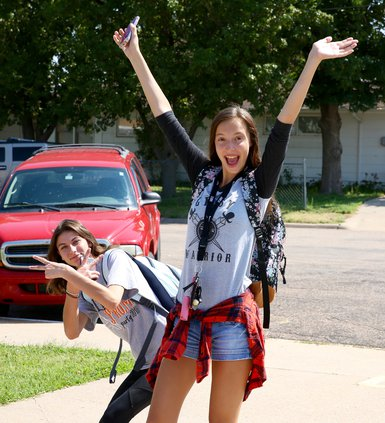 Senior Cheyenne Lile is excited to start her final year of high school..jpg