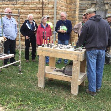 Post rock limestone workshop