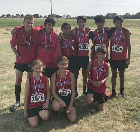 GBMS cross country at hays