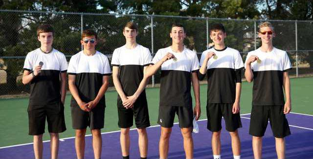 Larned tennis earns first
