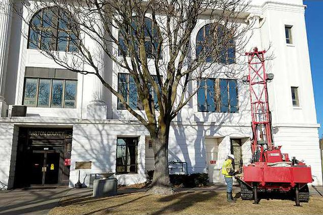 new deh courthouse drilling pic 2 web