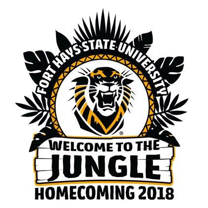 FHSU homecoming logo