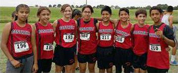 great bend middle cross country