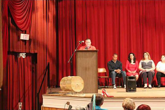 Dawn DeBolt speaks at event web