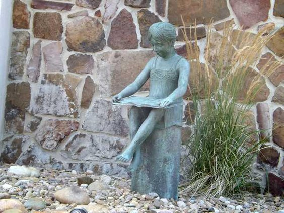 Great Bend Library-Statue