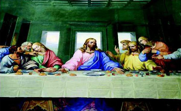 chu slt Messiah Last Supper