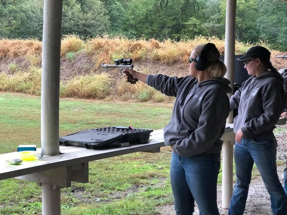 4-H rifle competition