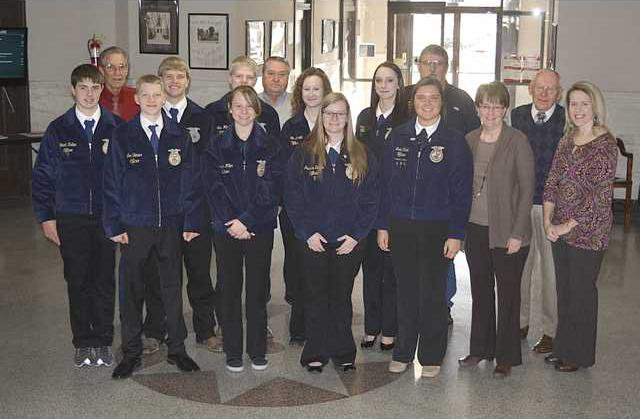 new deh county commission ffa pic