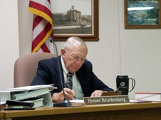 new deh county commission homer pic