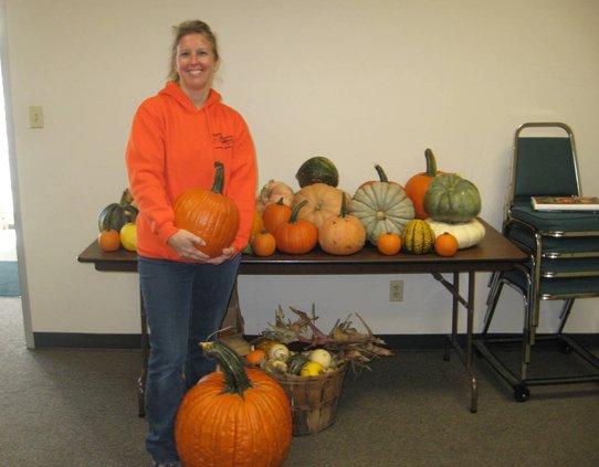 Garden Club pumpkins