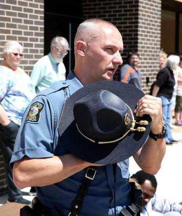 new Vlc Trooper Brent Hemken at lhs