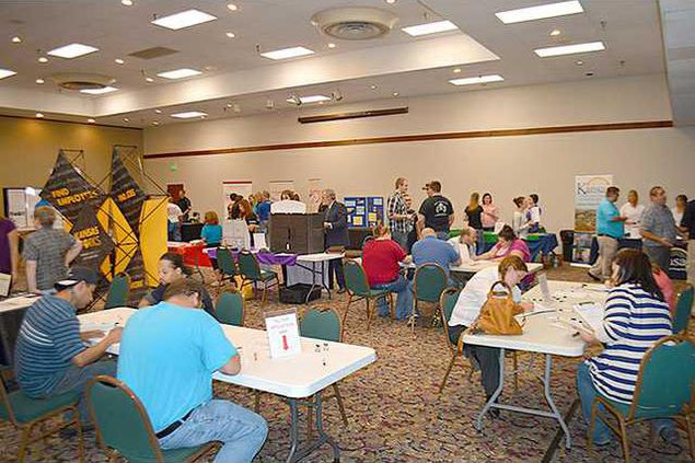 new deh county commission job fest pic web