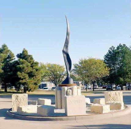 new slt BCC sculpture
