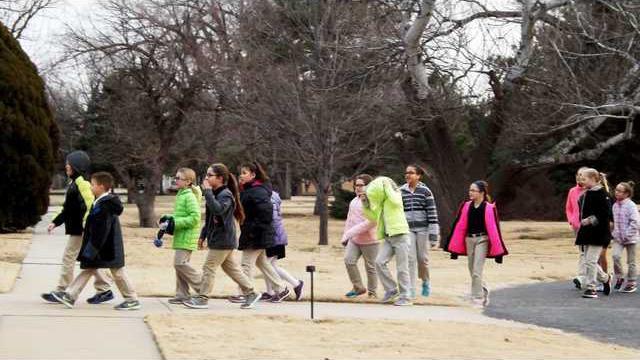 3-4 grades walk