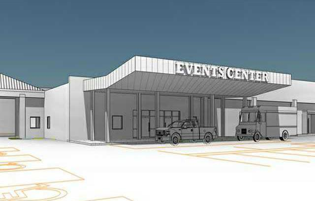 new deh city events center project drawing web