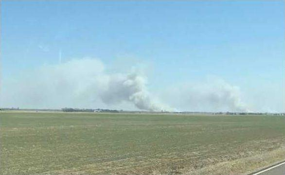 new deh rice county grass fire pic