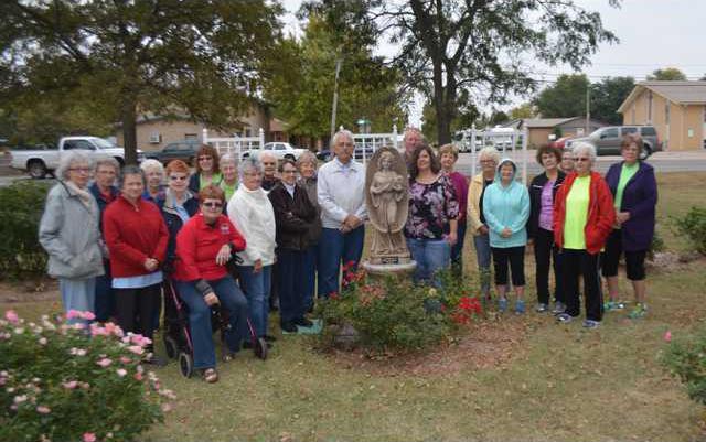 new re Dedicatin Memorial rose garden