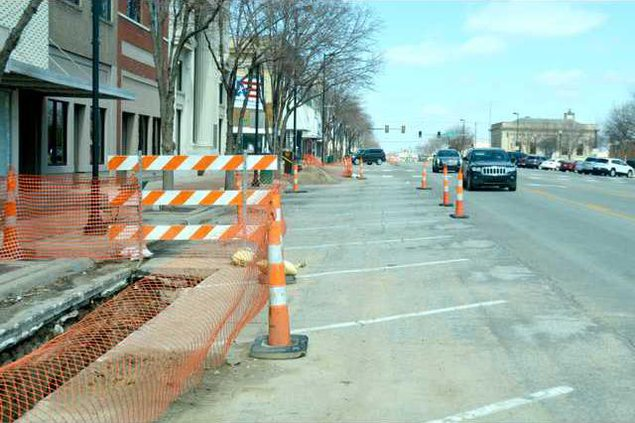 new re Main St. Construction