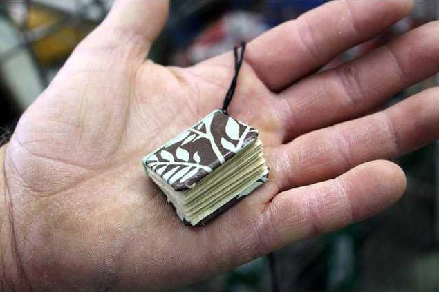 new vlc gift wrap story tiny book