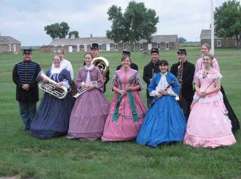 6-28 Fort Larned band