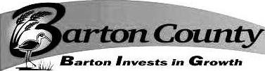 barton county logo bw