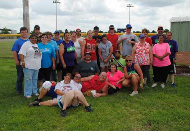 loc or anywhere benefit-softball