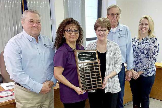 new deh county commission employee honor pic web