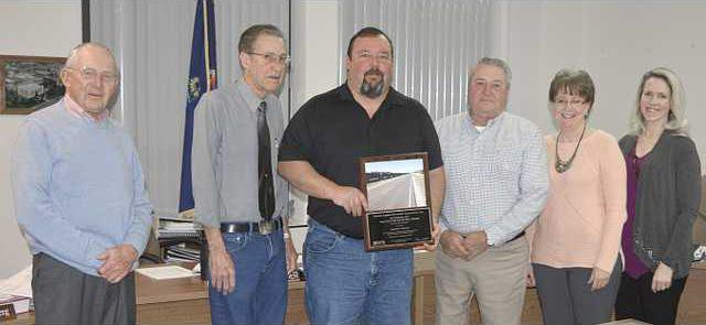 new deh county commission paving award pic