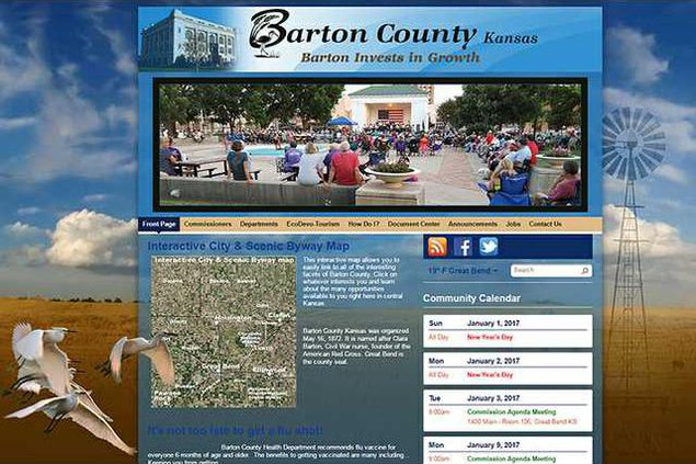 new deh county commission websited screen shot web