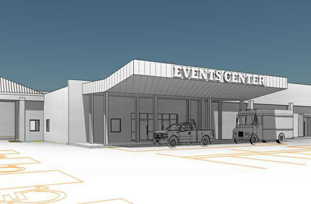 new deh more city council events center drawing web