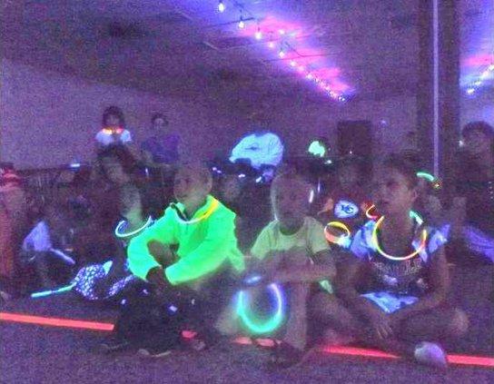 new slt glow-party