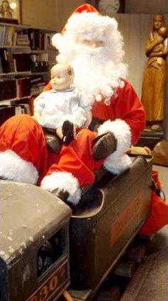 new slt santa train closeup