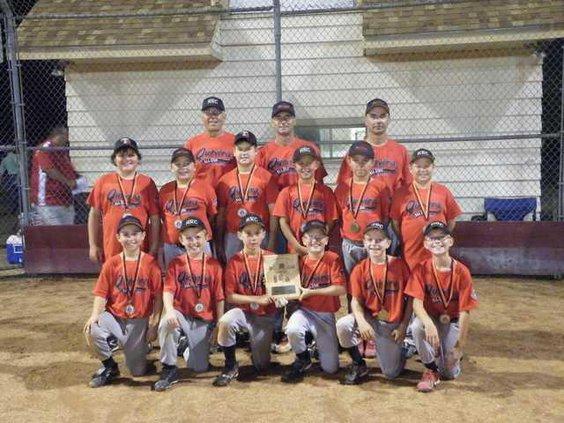 spt CP Hoisington baseball team