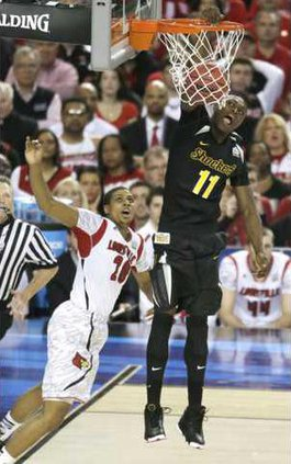 spt ap Wichita State dunk