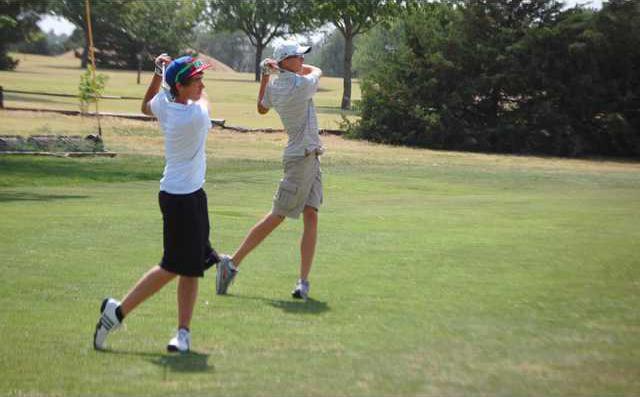 spt kp Larned golfers