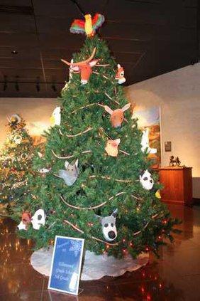 Ellinwood grade school Christmas tree at Schaeffer