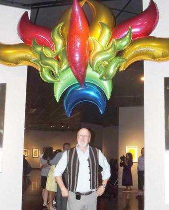 balloon headdress