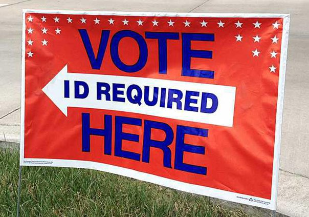 election vote here sign