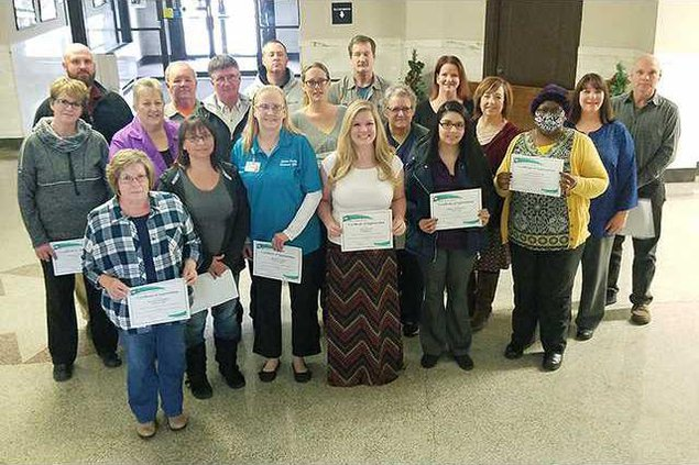 new deh county commission long-term employees pic web