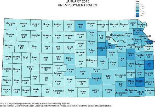 new deh employement map