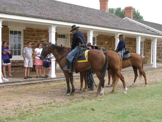 new deh fort larned cavalry