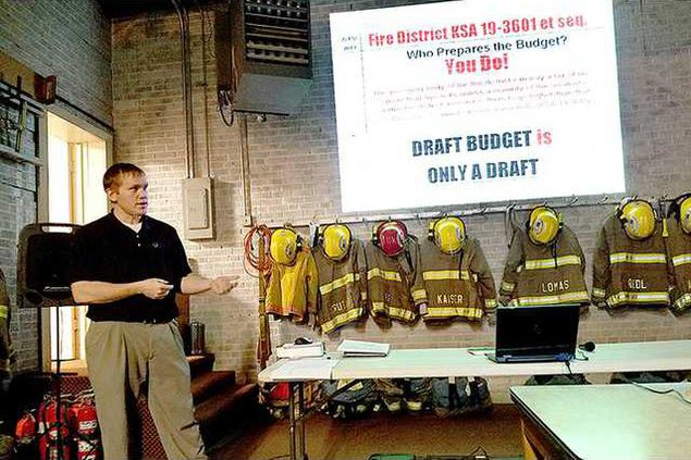 new deh hoisington fire district meeting mitchell pic web