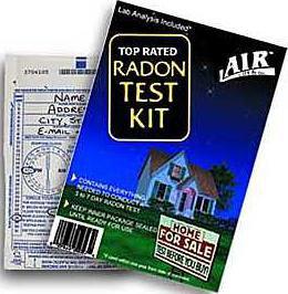 new deh radon testing kit