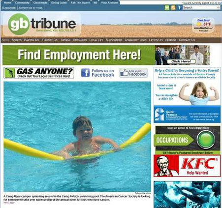 new deh tribune website pic