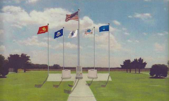 new deh vet memorial artwork