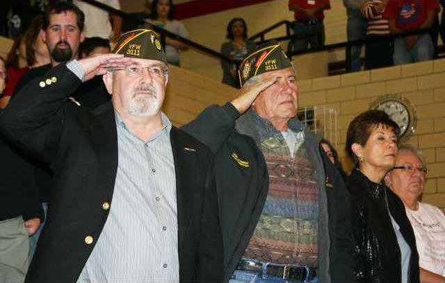 new deh veterans day high school 2011