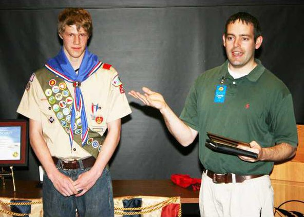 new kl Eagle Scout