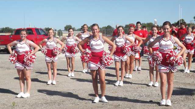 new kl cheerleaders