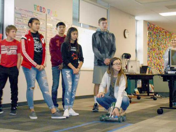 new slt school board-robots