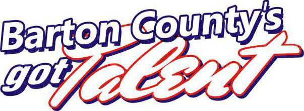 new vlc Barton Countys Got Talent Logo- new for 2012 show